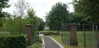 Tor zum Garten der Geschichte (Foto: Stadt Mannheim)