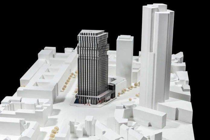 frankfurt hochhausstandort g terplatz ausstellung zeigt. Black Bedroom Furniture Sets. Home Design Ideas