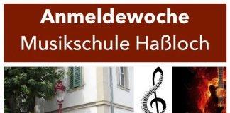 Plakat (Quelle: Gemeindeverwaltung Haßloch)