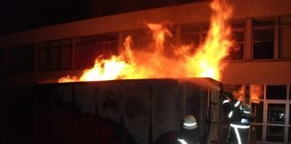 Containerbrand Bad Kreuznach