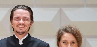 Matthias Metzger (Violine) und Sonja Schröder (Violoncello) (Foto: Jochen Kratschmer)