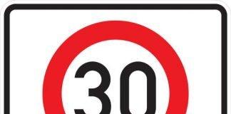Symbolbild Tempo 30 Zone