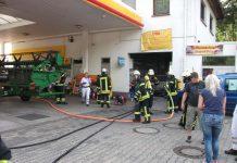 Einsatz in einer Tankstelle (Foto: Feuerwehr Bad Kreuznach)