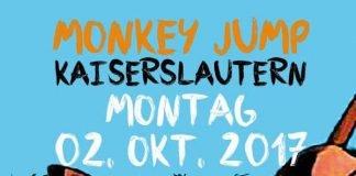 MONKEY JUMP am 2. Oktober in Kaiserslautern