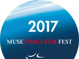 Museumsuferfest-Button (Quelle: Tourismus+Congress GmbH Frankfurt am Main)