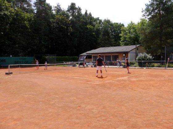 Tenniscamp beim 1. TC Weilerbach