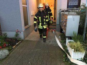 Einsatz wegen eines privaten Rauchmelders in der Karlsruher Straße