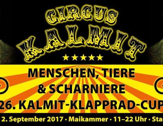 Kalmit-Klapprad-Cup 2017 Veranstaltungsplakat