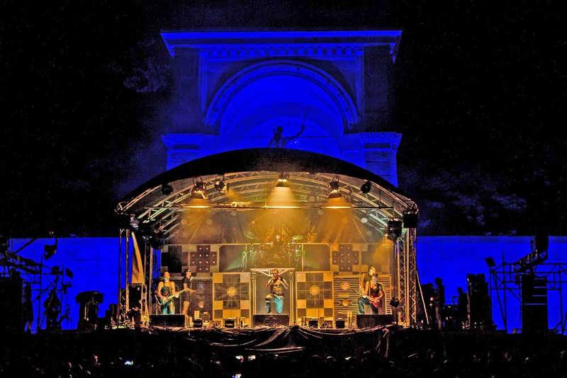 Rock am Friedensdenkmal (Foto: Claudia Fuhrmann)