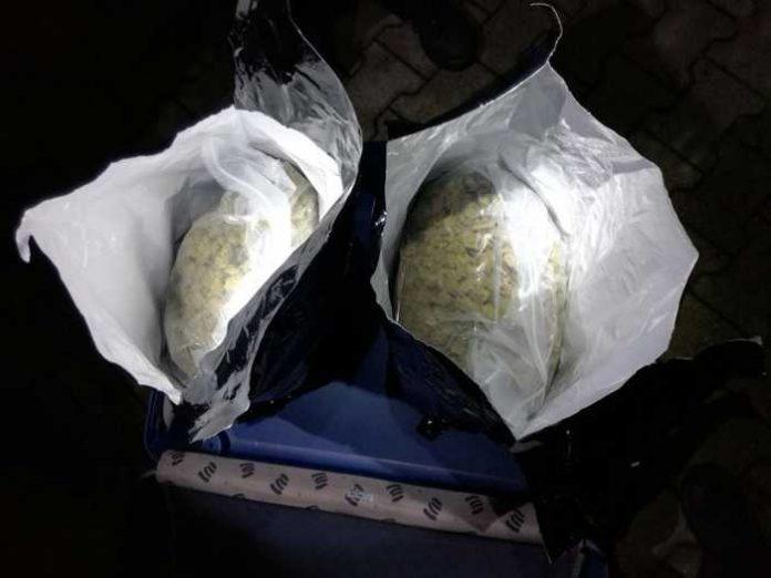 Mit rund 4kg Drogen wurden die beiden Männer erwischt