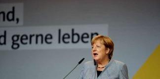 Angela Merkel CDU Wahlkampf Neustadt Weinstraße