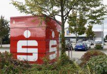 Der neue SB-Standort der Sparkasse Vorderpfalz auf dem Aldi-Gelände Am Weisenheimer Weg 3 - 5 in Fußgönheim. (Foto: Sparkasse Vorderpfalz)