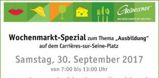 Wochenmarkt Spezial (Quelle: Stadtverwaltung Grünstadt)