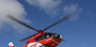 Gleich am Morgen wurde Christoph 43 zu einem schwer verletzten Motorradfahrer nachalarmiert. (Symbolbild: DRF Luftrettung)