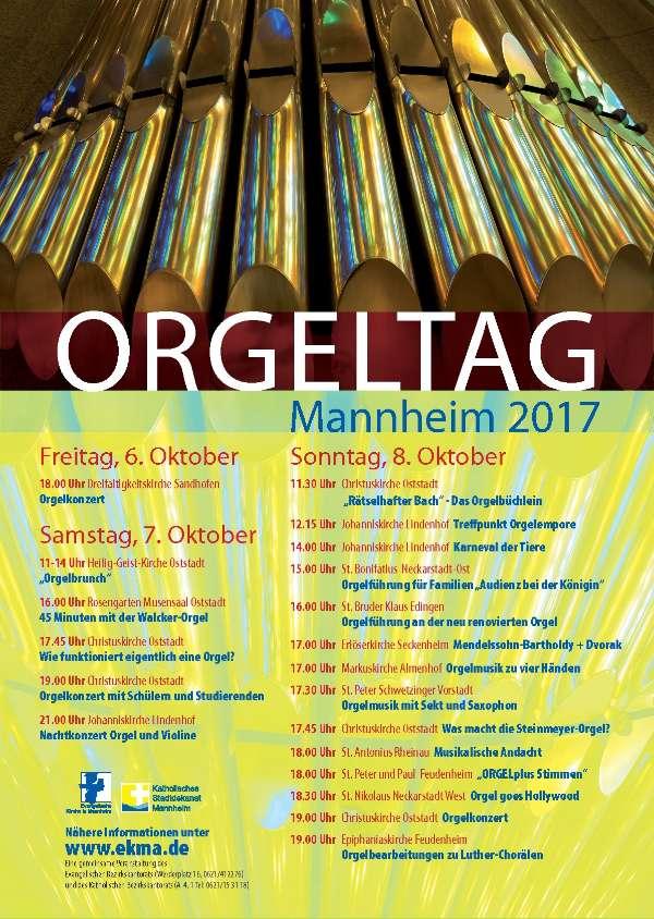 Veranstaltungsplakat (Quelle: Kantorat an der Christuskirche)