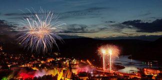 Bingen erstrahlt im Licht des Brückenfestes. (Foto: Winfried Schönbach)