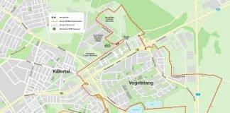 Die eingezeichete Strecke (Quelle: M3 - Marathon Mannheim Marketing GmbH & Co.KG)