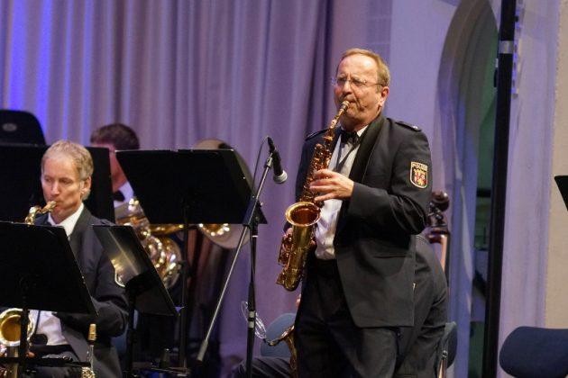 Peter Matejcek, Altsaxophon (Foto: Holger Knecht)
