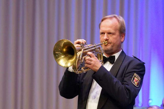 Wolfgang Schulte, Basstrompete (Foto: Holger Knecht)