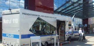 Nutzen Sie die kostenlose Beratung im Präventionsmobil der Hessischen Polizei