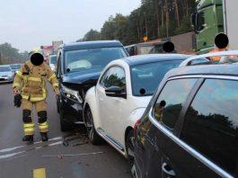 Unfallbeschädigte Fahrzeuge