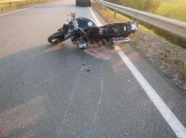 Motorrad des Getöteten