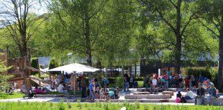 Bleibt den Kindern dauerhaft erhalten: Der Falkenstein-Spielplatz. (Foto: Gartenschau Bad Herrenalb 2017)