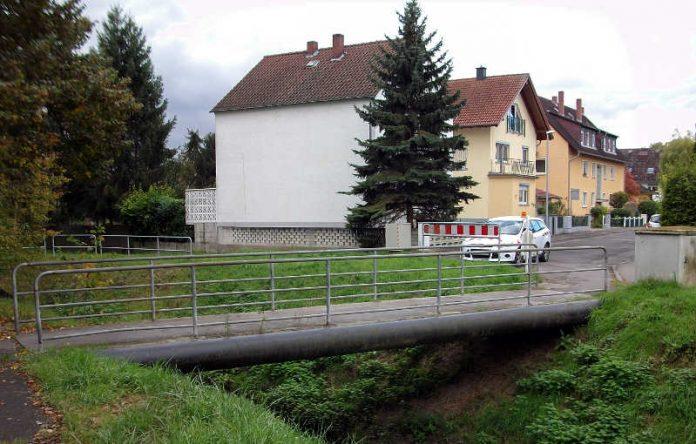 Brücke in Bingen-Kempten