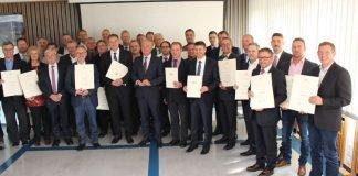 Digitalisierungsminister Thomas Strobl übergab 70 Förderbescheide (Foto: Ministerium für Inneres, Digitalisierung und Migration)