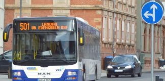 Das bestehende ÖPNV-Angebot in der Stadt Landau soll zum Fahrplanwechsel Mitte Dezember erweitert werden. Vorgesehen ist, noch nicht erschlossene Gebiete in das Liniennetz zu integrieren, die Taktung zu verdichten und das Angebot auf einzelnen Strecken bis in die späten Abendstunden zu erweitern. (Foto: Stadt Landau in der Pfalz)
