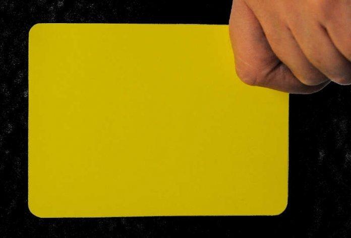 Gelbe Karte (Symbolbild) (Quelle: Polizeipräsidium Westpfalz)