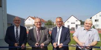 Das Kleinspielfeld wurde eingeweiht (Foto: Kreisverwaltung Bad Dürkheim)