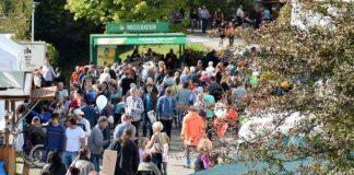 Viel Betrieb herrschte beim traditionellen Erntedank- und Herbstfest der Johannes-Diakonie in Schwarzach. (Foto: Walter)