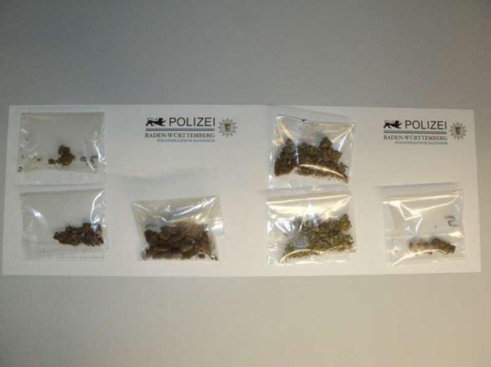 Sichergestellte Drogen (Foto: Polizei BW)
