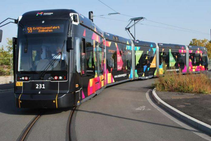 Straßenbahn der Straßenbahnlinie 59 (Foto: MVG)