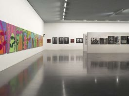 "Ausstellung ""VOYAGE OUT - TO SEE THE MATTERS"" im Kunsthaus (Foto: Patrick Baeuml)"