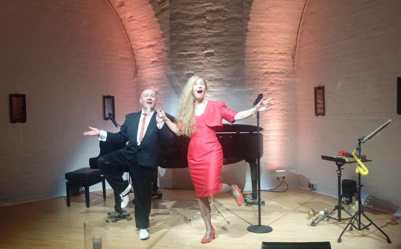 Das Künstlerpaar Liselotte Hamm und Jean-Marie Hummel (Foto: Stadtverwaltung Germersheim)