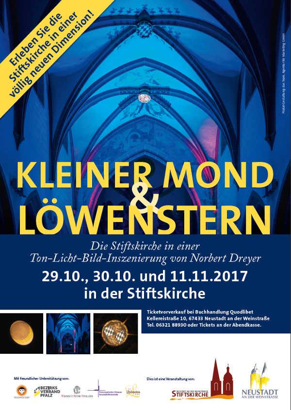 Veranstaltungsplakat (Quelle: Stiftskirchengemeinde Neustadt)