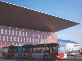 """Der Messe-Express der Verkehrsbetriebe Karlsruhe bietet eine schnelle Verbindung für die Besucher der """"offerta"""" (Foto: KVV)"""