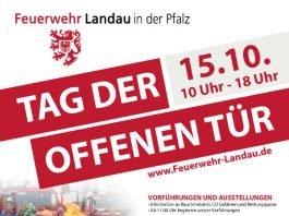 Veranstaltungsplakat (Quelle: Feuerwehr Landau)