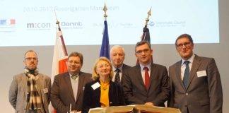 Polnischer Botschafter zu Gast in Mannheim - Eintrag ins Goldene Buch der Stadt (Foto: Stadt Mannheim)