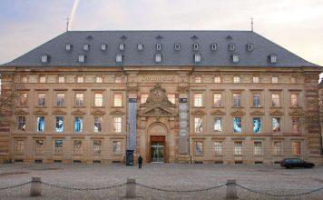 Reiss-Engelhorn-Museen, Museum Zeughaus C5, mit Installation LUX von Elisabeth Brockmann (Quelle: rem, Foto: Elisabeth Brockmann)