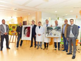 Dr. Jens Graf, Michael Schenk, Johann W. Wagner, Dr. Michael Karremann, Prof. Dr. Horst Schroten, Dr. Matthias Dürken, Arno Pender, Bastian Fiedler (Foto: m:con / Ben van Skyhawk)