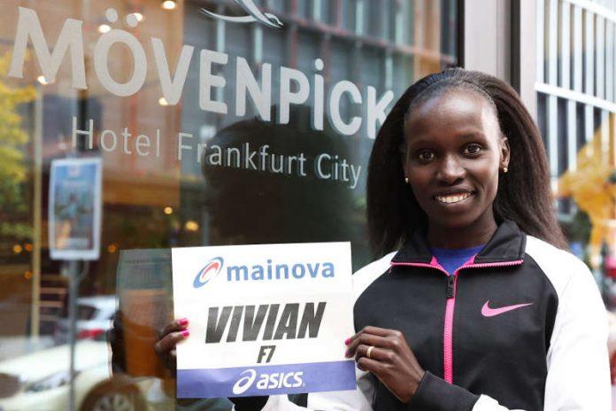 Vivian Cheruiyot (Foto: Mainova Frankfurt Marathon)