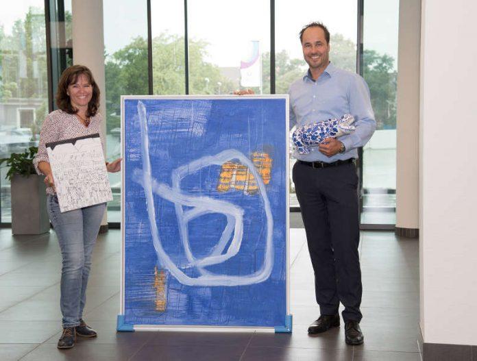 Anja Vogt und Erik Müller suchen nachhaltige Projekte aus der Region – für die es vier Kunstwerke zu gewinnen gibt. (Foto: Alica Haas)