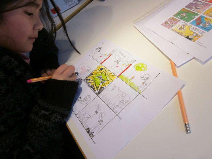 Vorlesen, malen, basteln und singen heißt es auch im November 2017 an allen Samstagen in der Stadtbücherei für Kinder von vier bis acht Jahren. (Foto: Stadtverwaltung Neustadt)
