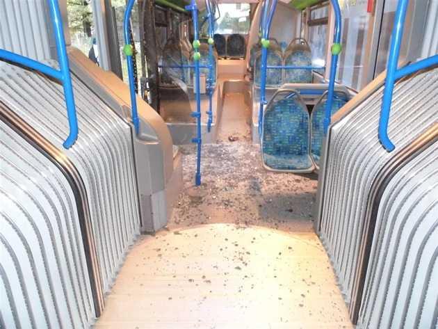 Schaden im Bus