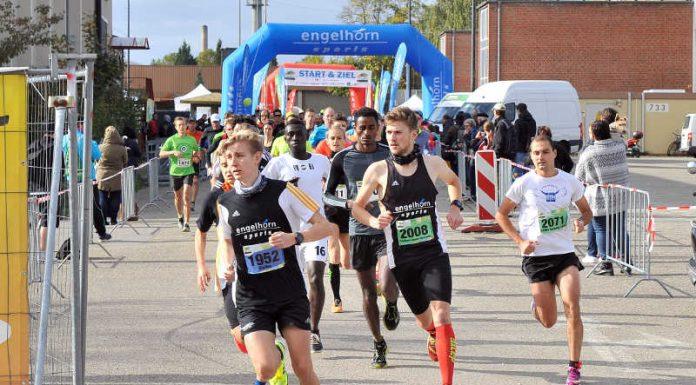 Läufer beim FRANKLIN Meilenlauf (Foto:: PIX-Sportfotos /Michael Ruffler)