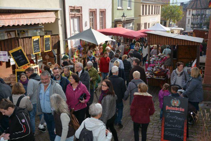 Allerheiligenmarkt in Neckarsteinach (Foto: Stadt Neckarsteinach)