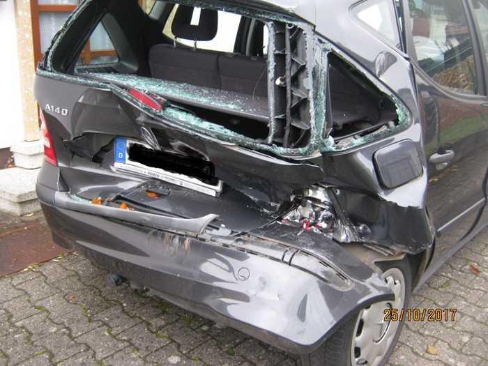 Verkehrsunfall in Elmstein